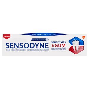 Sensodyne Sensitivity & Gum zubní pasta s fluoridem 75ml