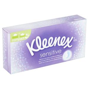 Kleenex Sensitive papírové kapesníky 3-vrstvé 72 ks