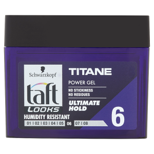 Taft Looks Power gel Titane 250ml