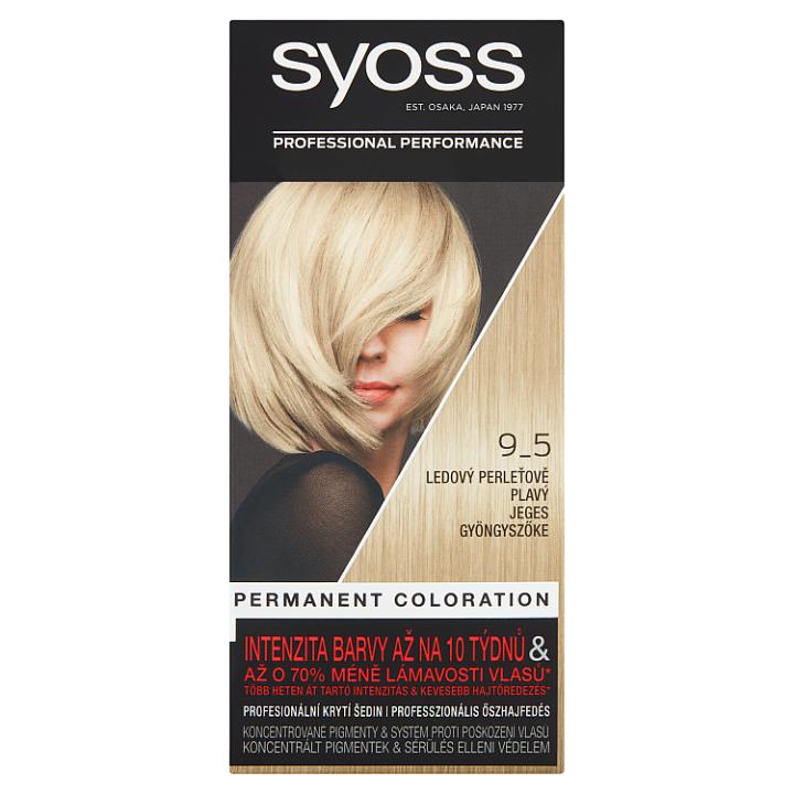 Syoss barva na vlasy Ledový Perleťově Plavý 9_5