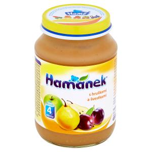 Hamánek S hruškami a švestkami 190g