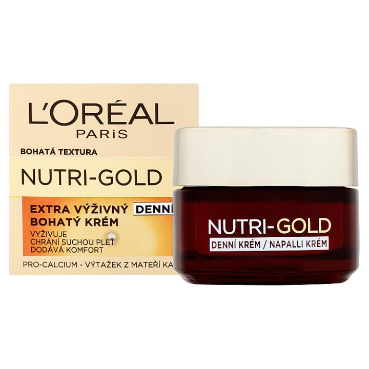 L'Oréal Paris Nutri-Gold Extra výživný bohatý denní krém 50ml
