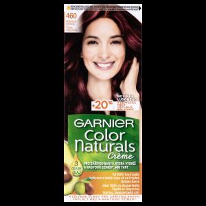 Garnier Color Naturals permanentní barva na vlasy 460 rubínově červená, 60+40+12ml