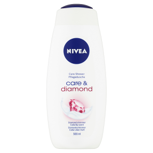 Nivea Care & Diamond Pečující sprchový gel 500ml