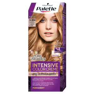 Schwarzkopf Palette Intensive Color Creme barva na vlasy Medová Extra Světlá Blond 9-554