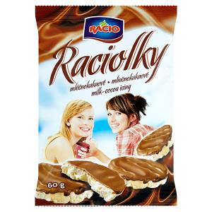 Racio Raciolky mléčnokakaové 60g