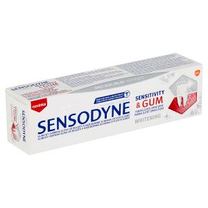 Sensodyne Sensitivity & Gum Whitening zubní pasta s fluoridem 75ml