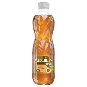 Aquila Tea Černý čaj se šťávou z broskve 0,5l