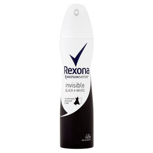 Rexona Invisible Black + White antiperspirant sprej 150ml