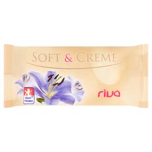Riva Soft & Creme jemné toaletní mýdlo 180g