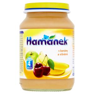 Hamánek S banány a višněmi 190g