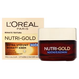 L'Oréal Paris Nutri-Gold Extra výživný bohatý noční krém 50ml