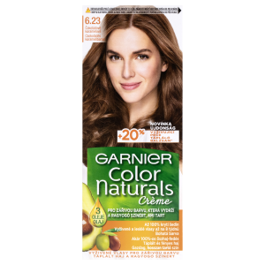Garnier Color Naturals permanentní barva na vlasy  6.23 čokoládově karamelová, 60+40+12ml