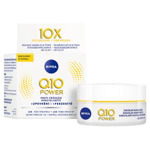 Nivea Q10 Power Zpevňující denní krém proti vráskám OF 15 50ml