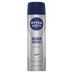 Nivea Men Silver Protect Sprej antiperspirant 150ml