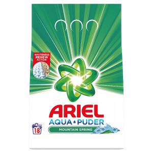 Ariel AquaPuder  Mountain Spring Prací Prášek 18 Praní