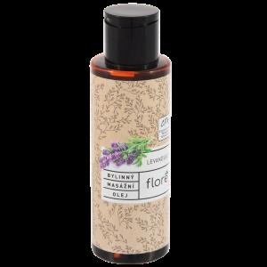 Floré Bylinný masážní olej levandule 100ml