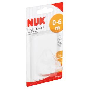 Nuk First Choice+ Antikoliková savička M 2 ks