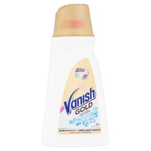 Vanish Oxi Action Gold tekutý odstraňovač skvrn na bílé prádlo 9 praní 940ml