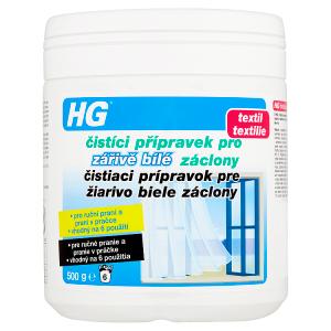 HG Čistíci přípravek pro zářivě bílé záclony 500g