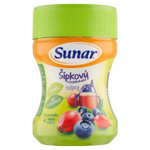 Sunar Šípkový nápoj s borůvkami 200g