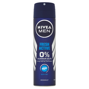 Nivea Men Fresh Active Sprej deodorant 150ml