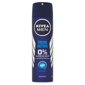 Nivea Men Fresh Active Sprej deodorant 150ml