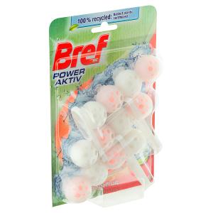 Bref Power Aktiv ProNature Grapefruit tuhý WC blok 3 x 50g