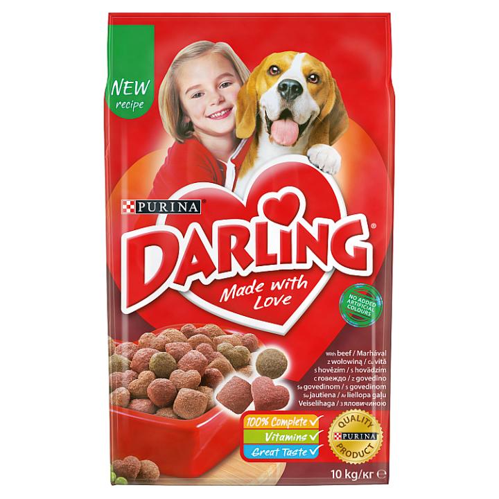 DARLING® granule pro psy s hovězím 10kg