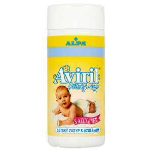 Alpa Aviril Dětský zásyp s azulenem 100g