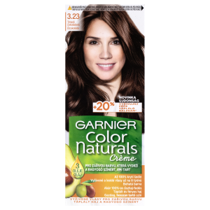 Garnier Color Naturals permanentní barva na vlasy 3.23 tmavě čokoládová, 60+40+12ml