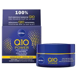 Nivea Q10 Power Zpevňující noční krém proti vráskám 50ml