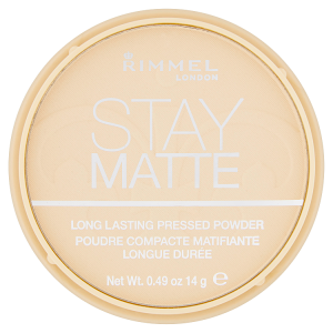 Rimmel London Stay Matte Pudr 001 Transparent 14g