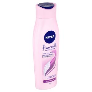 Nivea Hairmilk Natural Shine Pečující šampon 250ml