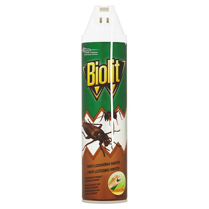 Biolit Extra aerosol proti lezoucímu hmyzu s aplikátorem 400ml