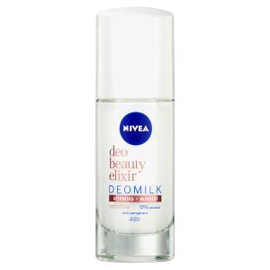 Nivea Deo Beauty Elixir Sensitive Deomilk Kuličkový antiperspirant 40ml