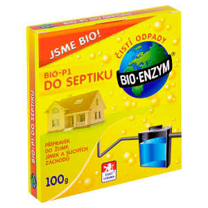 Bio-Enzym Bio-P1 do septiku 100g
