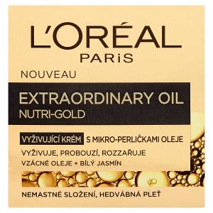 L'Oréal Paris Nutri-Gold Vyživující krém s mikro-perličkami oleje 50ml