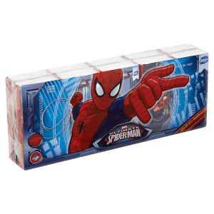 Ooops! Marvel Ultimate Spiderman Handkerchiefs 3 vrstvy 10 x 10 kusů
