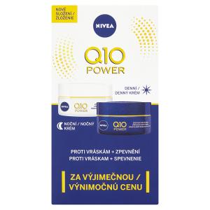 Nivea Q10 Power Zpevňující denní a noční krém proti vráskám 2 x 50ml