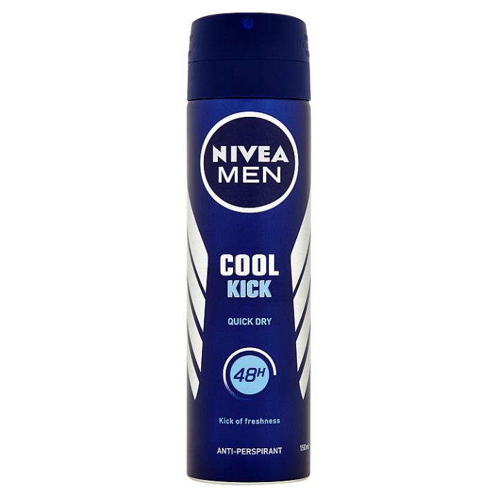 Nivea Men Cool Kick Sprej antiperspirant 150ml