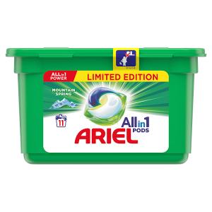 Ariel Allin1 Pods Mountain Spring Kapsle Na Praní 11 Praní