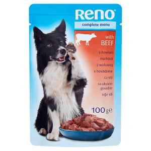 Reno Kompletní krmivo pro dospělé psy s hovězím 100g