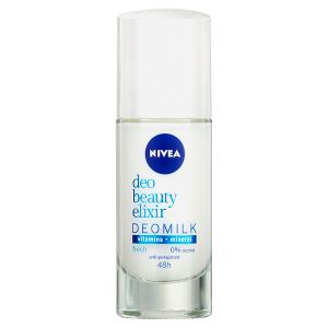 Nivea Deo Beauty Elixir Fresh Deomilk Kuličkový antiperspirant 40ml