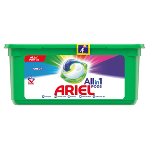 Ariel Allin1 Pods Color Kapsle Na Praní 26 Praní
