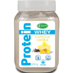 4Slim Whey protein  s příchutí vanilka 200g