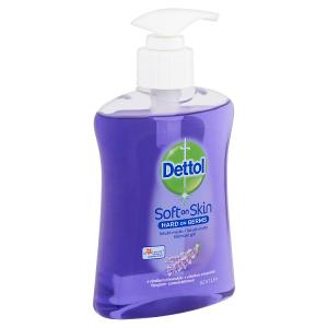 Dettol Soft on Skin Tekuté mýdlo s výtažkem z levandule 250ml