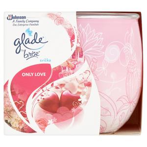 Glade by Brise Svíčka Only Love 120g