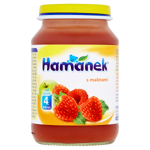 Hamánek S malinami 190g