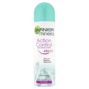 Garnier Mineral Action Control Heat Sport Stress deodorant ve  spreji 150ml